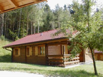Ferienhaus Stamsried: Oekoferienhaus Blockhaus Nr. 6