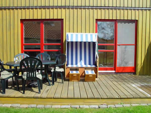 Ferienhaus Schoenberg-Brasilien: Ostsee-Ferienhaus Meerblick