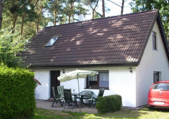 Ferienhaus Wieck a. Darss: Ferienhaus Weststrand auf Waldgrundstueck