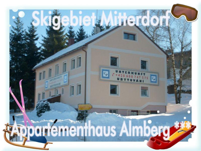 Ferienhaus Mitterfirmiansreut (Bayerischer Wald - Skizentrum Mitterdorf): Appartement Gebaeude Almberg ***