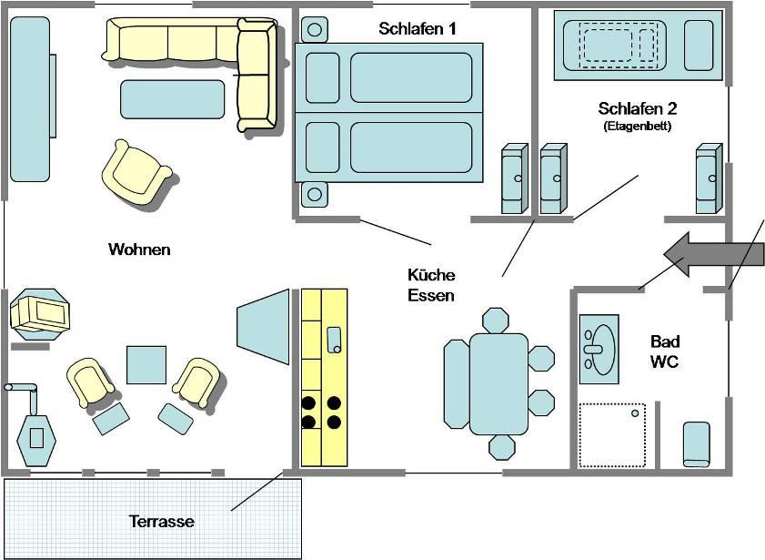 Ferienhaus Hohenfelde: Ostsee-Ferienhaus Seepferdchen