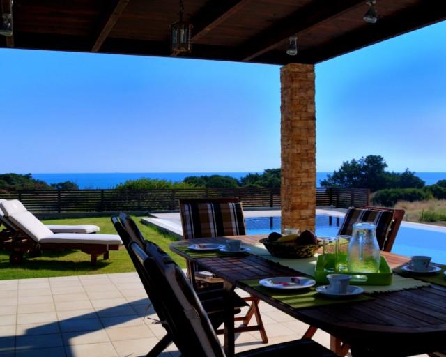 Ferienhaus Rhodos: Blue Wave de Lux Villa