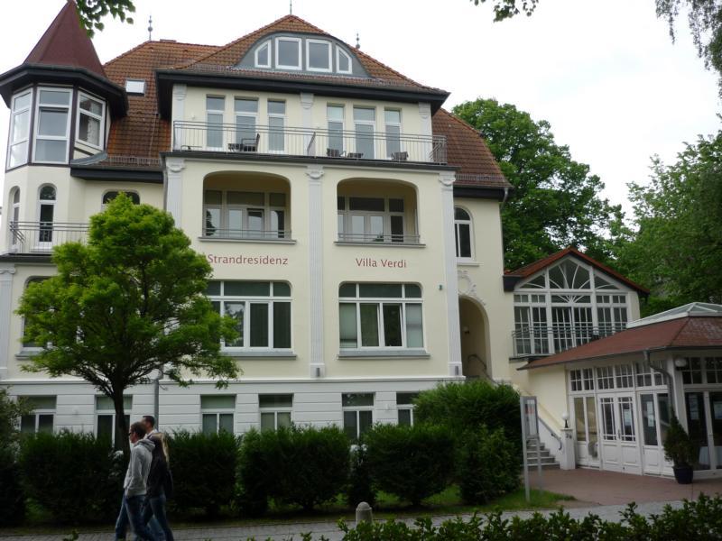 Hotelzimmer Kuehlungsborn: 2-Zi-Hotelsuite Residenz VIILA VERDI