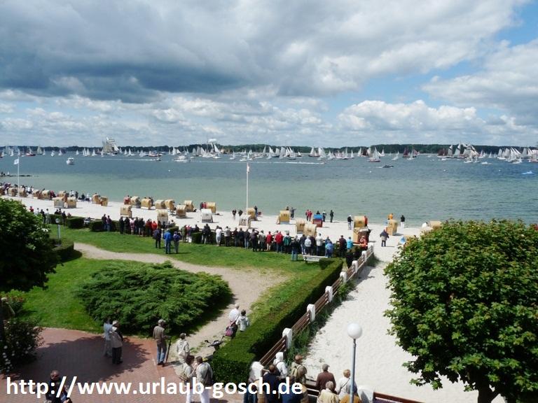 Ferienwohnung Laboe: Ostsee Fewo FD mit Meerblick in Laboe